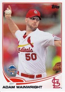 2013 Topps Update Cards Wainwright