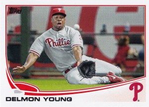 2013 Topps Update Delmon Young