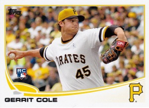 2013 Topps Update Gerritt Cole RC