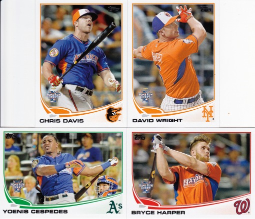 2013 Topps Update Home Run Derby