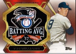 2013 Topps Update HTA jumbo box Ted Williams batting pin