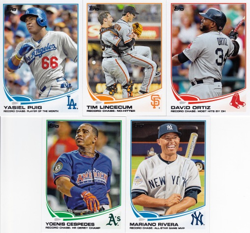 2013 Topps Update Record Chase