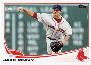 2013 Topps Update Red Sox Peavy