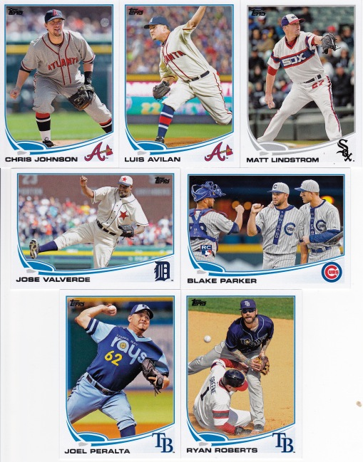 2013 Topps Update retro unis