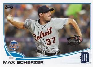 2013 Topps Update Tigers Scherzer