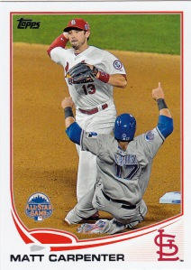 2013 Topps Update WS Matt Carpenter