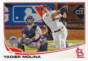 2013 Topps Update WS Molina