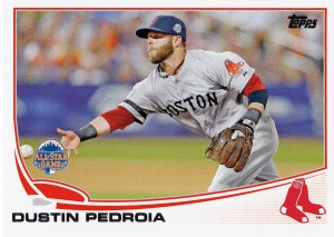 2013 Topps Update WS Pedroia