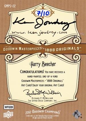 2012 Goodwin Originals Art Yale Beecher_0001