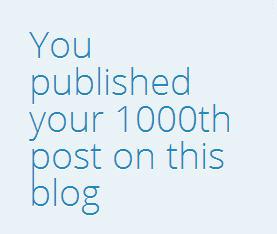 1000th post