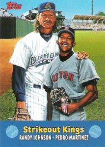 2000 topps Strikeout Kings Randy Pedro