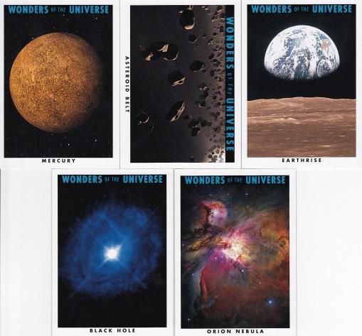 2013 Goodwin Champions box 1 Wonders of the Universe