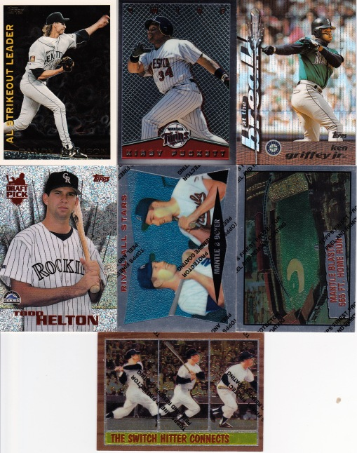 COMC 90s Topps inserts
