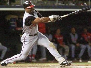 Greg Vaughn 1999 Reds