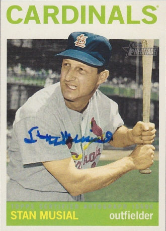 2013 Heritage Real One Musial
