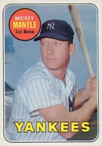 1969 Topps Mantle