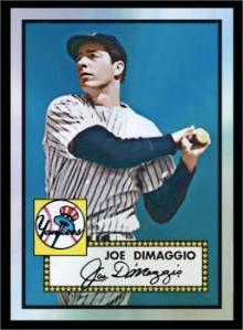 1952 Topps DiMaggio