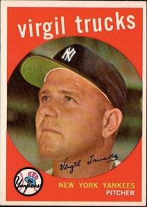 1959 Topps Virgil Trucks