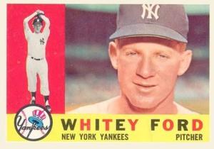 1960 Topps Whitey Ford