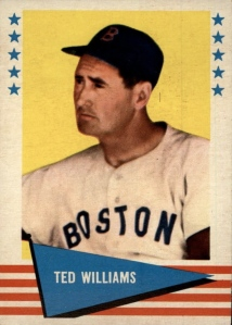 1961 Fleer Ted Williams
