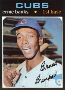 1971 Topps Ernie Banks