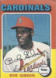 1975 Topps Bob Gibson