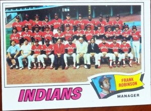 1977 Topps Indians Robinson