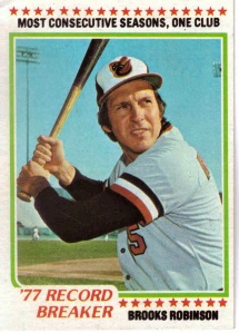 1978 Topps Brooks Robinson