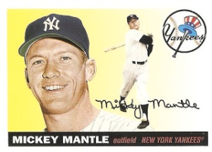 2011 Topps Lost Cards Mantle 1955