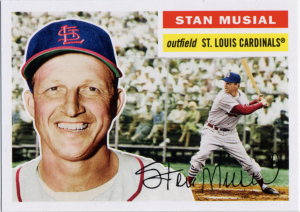 2011 Topps Lost Cards Musial