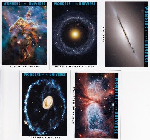 2013 Goodwin Champions box 3 Wonders of the Universe