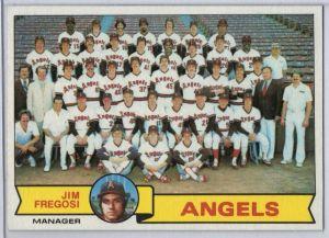 1979 Topps Angels Fregosi