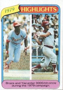 1980 Topps Brock Yaz HL