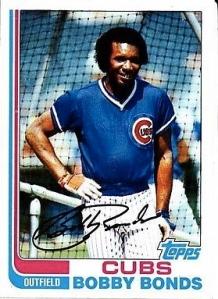 1982 Topps Bobby Bonds