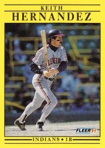 1991 Fleer Keith Hernandez