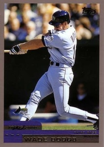 2000 Topps Wade Boggs
