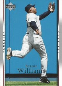 2007 UD Bernie Williams