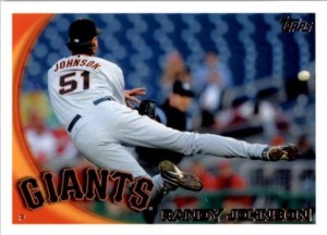 2010 Topps Randy Johnson