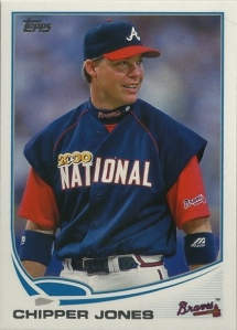 2013 Topps Update Chipper Jones
