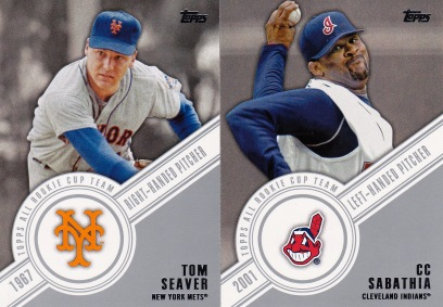 2014 Topps All-Rookie Cup Team