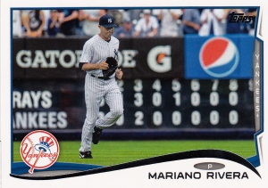 2014 Topps retiring Rivera