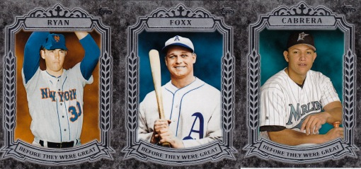 2014 Topps s1 box Before They Were Great