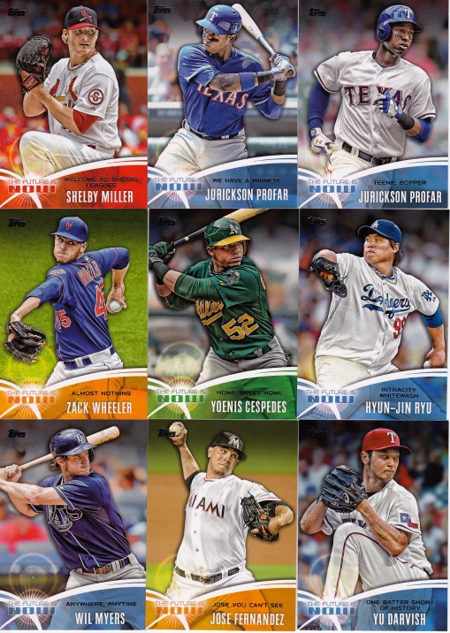 2014 Topps s1 box Future is Now