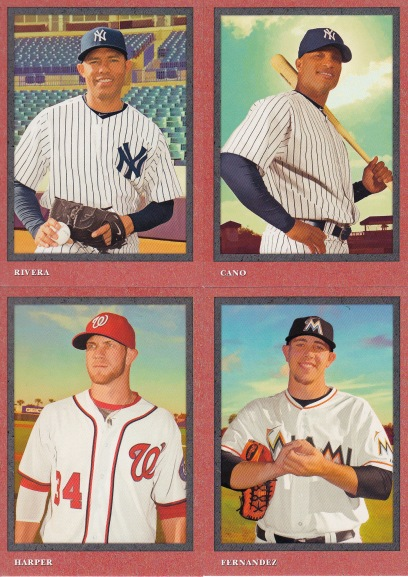 2014 Turkey Red base cards