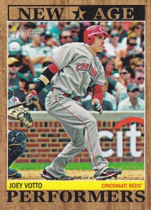 2011 Topps Heritage New Age Votto