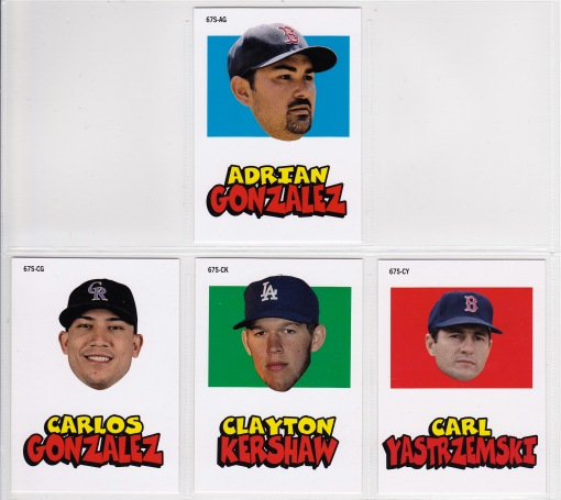 2012 Topps Archives 67 Stickers