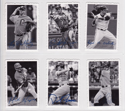 2012 Topps Archives 69 Deckle