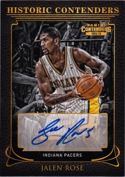 2012-13 Jalen Rose Historic auto