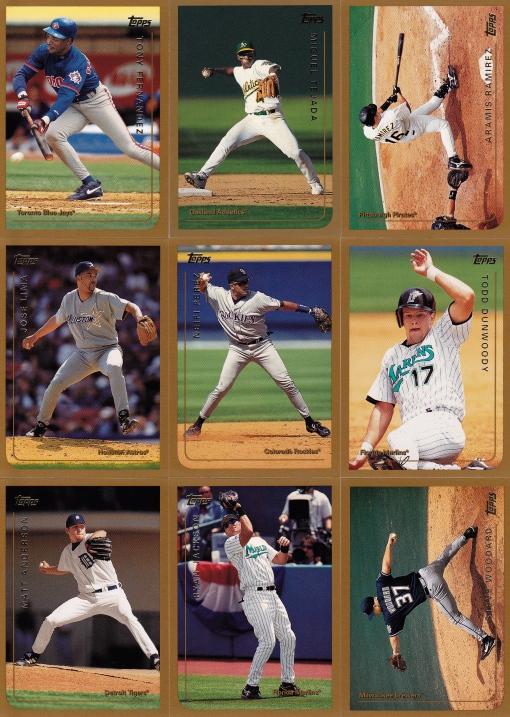 Trade Cardboard Examiner 1999 Topps