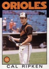 1986 Topps Cal Ripken Jr
